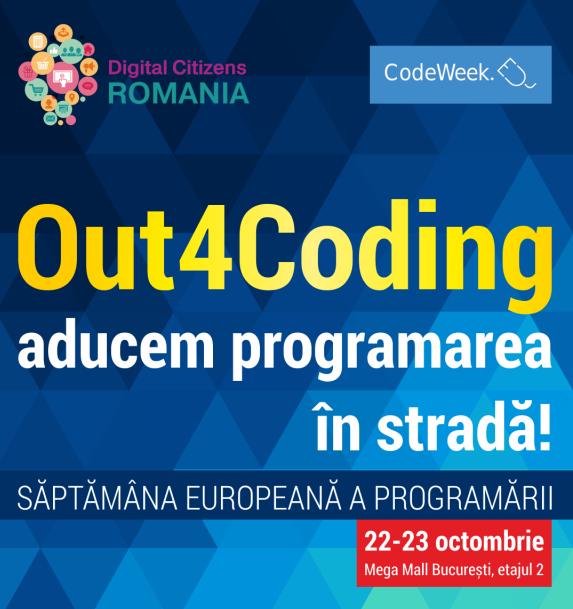 Out 4 Coding – Saptamana Europeana a Programarii