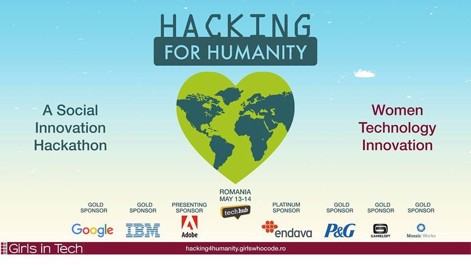 Hacking for Humanity: Creativitate și inovație pentru fapte bune!